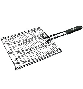 Non-Stick Triple Fish Basket NJ #24014