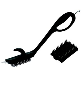 Power Grip Replaceable Head Grill Brush NJ #77620