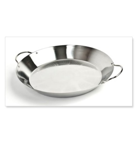 Paella Grill Pan, Stainless (4QT / 3.8L) NJ #SPAE