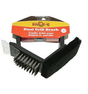 Dual Grill Brush NJ #06015SSX
