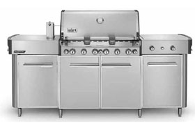 Summit Grill Center Stainless Steel NG NJ #292001
