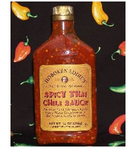 Spicy Thai Chili Sauce NJ #Hoboken Eddie's