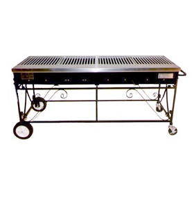 8 Burner Commercial Gas Grill Rental NJ #A4CC