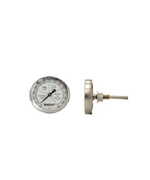 GRILL TEMPERATURE GAUGE Stainless - Accessories For BBQ Grills NJ item 154