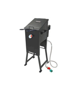 4-Gal. Bayou Fryer w/ 2 Stainless Baskets - Bayou Classic Cookers / Fryers BBQ Grills NJ item 72