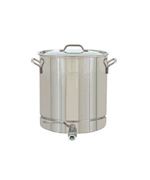 8-Gal. Stockpot w/Spigot, Lid 32 Qt. - Accessories For BBQ Grills NJ item 24