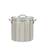36-Qt. Steam/Boil/Fry Stockpot, Lid - Accessories For BBQ Grills NJ item 25