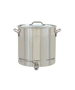 10-Gal. Stockpot w/ Spigot, Lid, 40 Qt. - Accessories For BBQ Grills NJ item 26