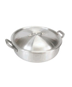32-Qt. Brazier Pan, Vented Lid - Bayou Classic Accessories For BBQ Grills NJ item 93