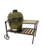 Table Cart Textured Brown w/ ceramic tile top - Accessories For BBQ Grills NJ item 166