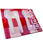 Table Cloth, Cutlery and Table Clips Set - Accessories For BBQ Grills NJ item 830