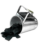 Heavy Duty Chimney Style Charcoal Starter - Accessories For BBQ Grills NJ item 844
