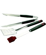 3 Pc Resin Handle Tool Set - Accessories For BBQ Grills NJ item 231