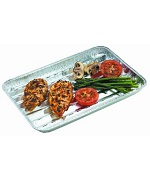 Aluminum Foil Grill Tray - Accessories For BBQ Grills NJ item 273