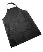 Black Cotton Apron - Accessories For BBQ Grills NJ item 290