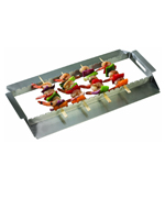 Stainless Steel Kebab Rack - Accessories For BBQ Grills NJ item 297