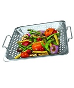 Stainless Steel Square Wok Topper - Accessories For BBQ Grills NJ item 298