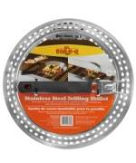 Stainless Steel Grilling Skillet w/ Removable Handle - Mr. Bbq Accessories For BBQ Grills NJ item 1128