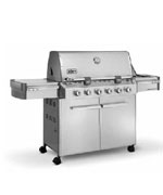 Summit S-620 SS NG - Weber Gas BBQ Grills NJ item 675