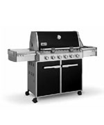 Summit E-620 Black NG - Weber Gas BBQ Grills NJ item 676