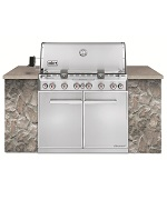 Summit S-660 Built-In SS LP - Weber Gas BBQ Grills NJ item 672