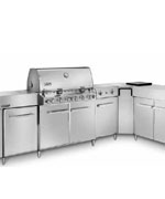 Summit Grill Center Stainless Steel NG with Social Area - Weber Gas BBQ Grills NJ item 613