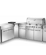 Summit Grill Center Stainless Steel NG with Social Area - Weber Gas BBQ Grills NJ item 617