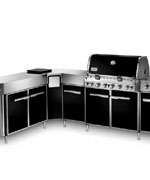 Summit Grill Center Black NG with Social Area - Weber Gas BBQ Grills NJ item 618
