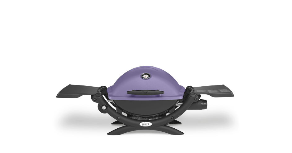 Weber Q 1200 LP Gas Grill - Purple - Weber Gas BBQ Grills NJ item 1425