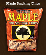 Western Maple Smokin Chip - Wood Chips For BBQ Grills NJ item 140