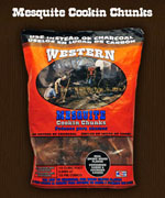 Western Mesquite Cookin Chunks - Wood Chips For BBQ Grills NJ item 142