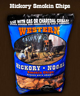 Western Hickory Smokin Chip - Wood Chips For BBQ Grills NJ item 145