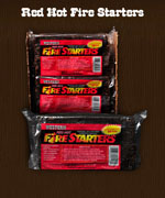 Red Hot Fire Starters - Wood Chips For BBQ Grills NJ item 133