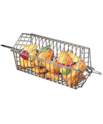 Rotisserie Tumble Basket - Accessories For BBQ Grills NJ item 279
