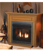 Custom Vent Free Fireplace - Vent Free Gas Fireplaces NJ item 1408
