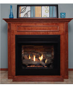 Mantel Vent Free Fireplace - Vent Free Gas Fireplaces NJ item 1405